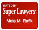 Mala Rafik Massachusetts Super Lawyer